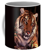 Bengal Tiger In Thought Coffee Mug