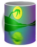 Bent Palm Sunrise Coffee Mug