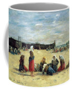 Berck - Fisherwomen On The Beach Coffee Mug