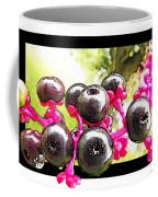Berry Burst   Poke Berries Coffee Mug