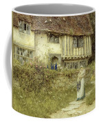 Beside The Old Church Gate Farm Smarden Kent Coffee Mug
