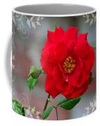 Betty's Red Rose Coffee Mug
