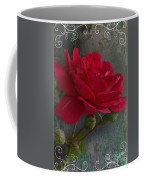 Betty's Red Rose II With Decorations Coffee Mug