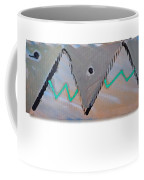 Between The Mountains And The Fishes Coffee Mug
