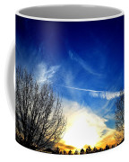 Between Two Trees Coffee Mug