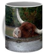 Beware Smiling Bull Coffee Mug