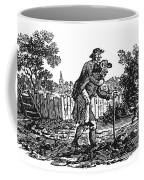 Bewick: Man Carrying Man Coffee Mug by Granger