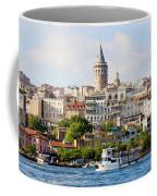 Beyoglu District In Istanbul Coffee Mug by Artur Bogacki