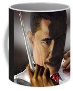 Beyond Sharky Waters Coffee Mug by Reggie Duffie