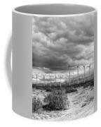 Beyond The Clouds Bw Coffee Mug