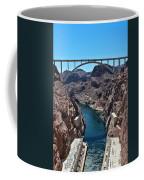 Beyond The Hoover Dam Spillway Coffee Mug