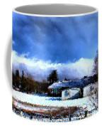 Bhs Softball Field Winter 2012 Detail Coffee Mug