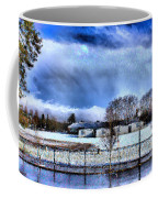 Bhs Softball Field Winter 2012 Full Coffee Mug