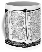 Bible, 19th Century Coffee Mug