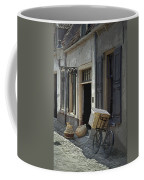 Bicycle On A Street By The Zuider Zee  Coffee Mug