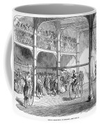 Bicycle Tournament, 1869 Coffee Mug