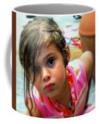 Big Brown Eyes Coffee Mug