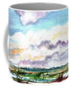 Big Clouds Coffee Mug