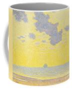 Big Clouds Coffee Mug by Theo van Rysselberghe