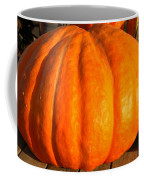 Big Orange Pumpkin Coffee Mug