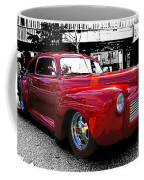 Big Red Abstract Coffee Mug