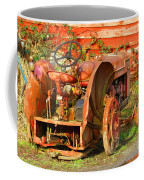 Big Red Tractor Coffee Mug