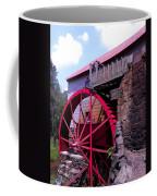 Big Red Wheel Coffee Mug