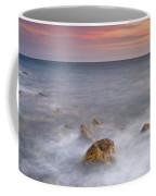 Big Rock Against The Waves Coffee Mug
