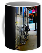 Bike - Scaffold - Lunchers - Water Color Conversion Coffee Mug