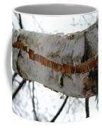 Birch Damaged In Ice Storm Coffee Mug