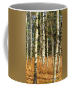 Birch Tree Abstract Coffee Mug