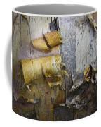 Birch Tree Bark No.0863 Coffee Mug