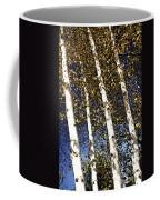 Birch Trees In Fall Coffee Mug