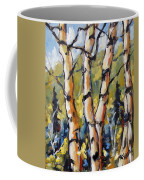 Birches Aglow By Prankearts Coffee Mug
