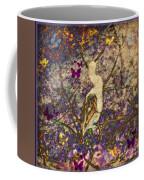 Bird And Butterflies Coffee Mug