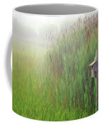 Bird House In Quogue Wildlife Preserve Coffee Mug