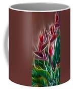 Bird Of Paradise Fractal Coffee Mug