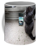 Birding Cat One Coffee Mug