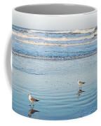 Birds At Dusk Vanilla Pop Coffee Mug