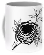 Birds Nest Coffee Mug