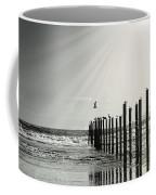 Birds On Outer Banks Coffee Mug