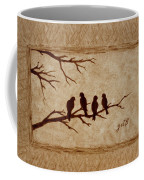 Birds Vintage Photo Beer Painting Coffee Mug