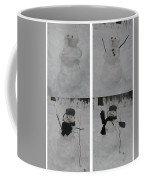 Birth Of A Snowman Coffee Mug