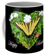 Birthday Greeting Card - Tiger Swallowtail Butterfly Coffee Mug