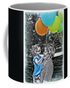 Birthdays Coffee Mug by Joan  Minchak