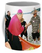 Bishop Arrives Coffee Mug