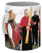 Bishop Arrives Two Coffee Mug