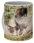 Bison Dust Bath Coffee Mug