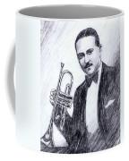 Bix Beiderbecke 1929 Coffee Mug by Mel Thompson