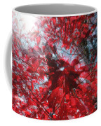 Black And Red Crescendo Coffee Mug